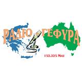 logo ραδιοφωνικού σταθμού RADIO GEFYRA