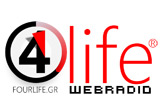 logo ραδιοφωνικού σταθμού Four life