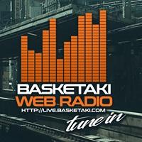 logo ραδιοφωνικού σταθμού Basketaki Web Radio