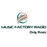 logo ραδιοφωνικού σταθμού Music Factory Radio