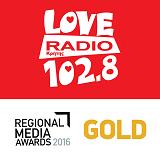 logo ραδιοφωνικού σταθμού Love Radio Κρήτης