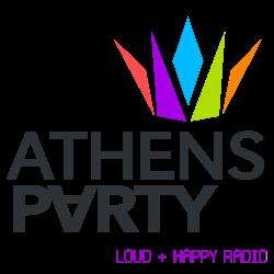 logo ραδιοφωνικού σταθμού Athens Party