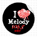 logo ραδιοφωνικού σταθμού MELODY FM