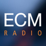 logo ραδιοφωνικού σταθμού ECM Radio