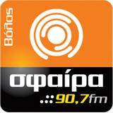 logo ραδιοφωνικού σταθμού Σφαίρα Βόλου