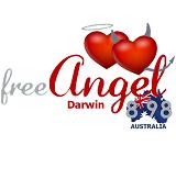 logo ραδιοφωνικού σταθμού Free Angel Radio