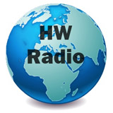 logo ραδιοφωνικού σταθμού Hellenic World Radio