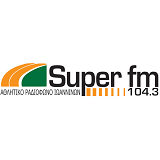 logo ραδιοφωνικού σταθμού Super FM
