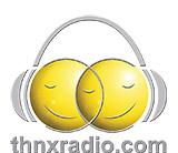 logo ραδιοφωνικού σταθμού THNX RADIO