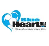 logo ραδιοφωνικού σταθμού Blue Ηeart