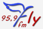 logo ραδιοφωνικού σταθμού Fly Radio