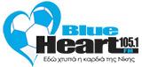 logo ραδιοφωνικού σταθμού Blueheart