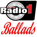 logo ραδιοφωνικού σταθμού Radio1 BALLADS