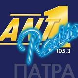 logo ραδιοφωνικού σταθμού ΑΝΤ1 Πάτρας