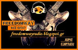 logo ραδιοφωνικού σταθμού Freedom Way Radio
