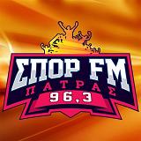 logo ραδιοφωνικού σταθμού Σπορ FM Πάτρας