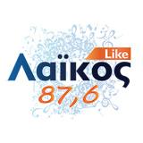 logo ραδιοφωνικού σταθμού Λαϊκός FM