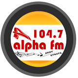 logo ραδιοφωνικού σταθμού Alpha FM