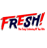 logo ραδιοφωνικού σταθμού Fresh Hits Athens