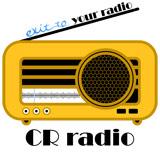 logo ραδιοφωνικού σταθμού CR Radio