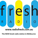 logo ραδιοφωνικού σταθμού Fresh Radio
