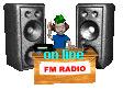 logo ραδιοφωνικού σταθμού OnlineFM