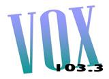 logo ραδιοφωνικού σταθμού VOX