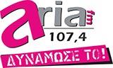logo ραδιοφωνικού σταθμού Aria FM
