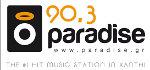 logo ραδιοφωνικού σταθμού Paradise Radio