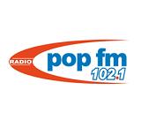 logo ραδιοφωνικού σταθμού Pop FM