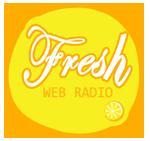 logo ραδιοφωνικού σταθμού Fresh web Radio