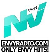 logo ραδιοφωνικού σταθμού Envy Radio