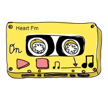 logo ραδιοφωνικού σταθμού Heart FM