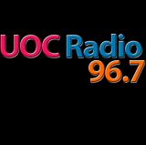 logo ραδιοφωνικού σταθμού UOC Radio