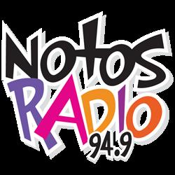 logo ραδιοφωνικού σταθμού Notos