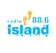 logo ραδιοφωνικού σταθμού Island FM