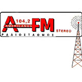 logo ραδιοφωνικού σταθμού Americanos