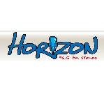logo ραδιοφωνικού σταθμού Horizon FM