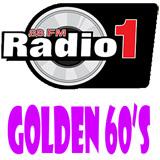 logo ραδιοφωνικού σταθμού Radio1 GOLDEN 60s