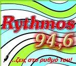 logo ραδιοφωνικού σταθμού Rythmos