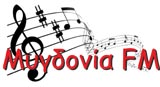logo ραδιοφωνικού σταθμού Ράδιο Μυγδονία