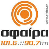 logo ραδιοφωνικού σταθμού Σφαίρα Θεσσαλίας