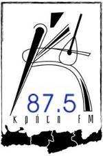 logo ραδιοφωνικού σταθμού Kriti FM