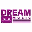 logo ραδιοφωνικού σταθμού Dream music