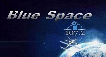 logo ραδιοφωνικού σταθμού Blue space Athens