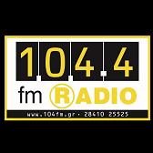 logo ραδιοφωνικού σταθμού Ράδιο 104.4