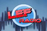logo ραδιοφωνικού σταθμού Lef Radio