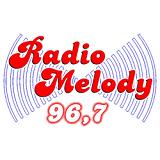 logo ραδιοφωνικού σταθμού Radio Melody