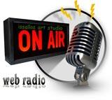 logo ραδιοφωνικού σταθμού issallos art studio