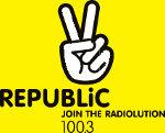 logo ραδιοφωνικού σταθμού Republic Radio